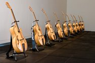 Michael Parekowhai, Patriot: Ten Guitars 1999
