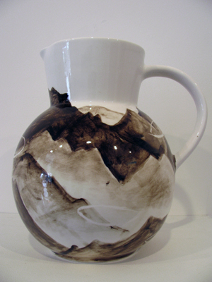 South 2, 2010, ceramic, 265 x 265 x 190 mm