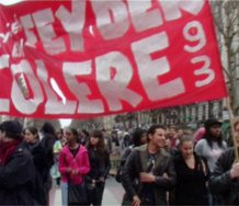 Bernard Bazile, Les Manifs (Protest Marches), 2009, video