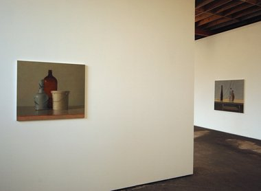 Jude Rae at Jensen. Installation Still Life 263 and Still Life 265