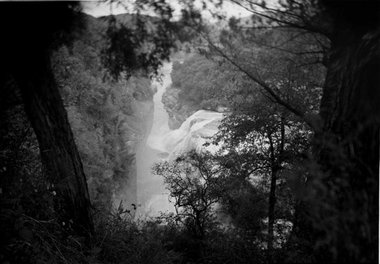 Joyce Campbell, Given The Waterfall, gelatin siver fibre-based print.