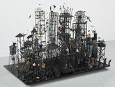 Peter Madden, Necrolopolous, 2004, mixed media, 1100 x 900 x 1600 mm, Auckland Art Gallery Toi o Tā