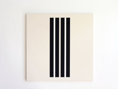 Gordon Walters, Untitled, 1978, PVA and acrylic on canvas, 915 x 737 mm