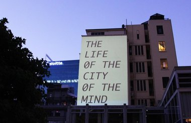 Young-Hae Chang Heavy Industies, The Life of the City of the Mind, Freyberg Place