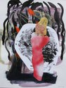 Emma Smith, Hecate, 2010, mixed media on paper, courtesy of the artist