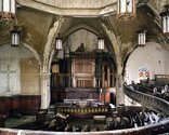 Frank Schwere, Nave #1 (Woodward Avenue Presbyterian Church, 8501 Woodward Ave), Detroit, MI, 2009, C-Print, 126cm x 100cm. Courtesy of the artist and Two Rooms