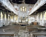 frank Schwere, Nave #3 (God's Inspirational Kingdom Church, 2607 Blaine St), Detroit, MI, 2009, C-Print, 126cm x 100cm. Courtesy of the artist and Two Rooms