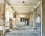 Frank Schwere, Hallway #1 (Michigan Central Depot), Detroit, MI, 2009 C-Print, 126cm x 100cm. Courtesy of the artist and Two Rooms