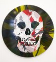 Damien Hirst, Beautiful Apollo Idealisation Painting, 2008, household gloss on canvas, 1829 mm diameter