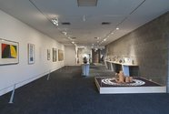 Installation view of Ruby: A 40 Year Love Affair with The Dowse, The Dowse Art Museum, Hutt City