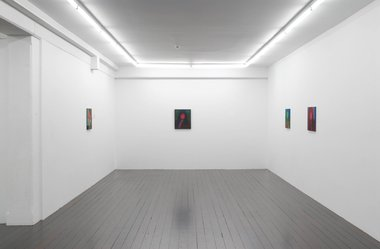 Nicola Farquhar's New Paintings installed at Hopkinson Cundy