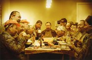 Zhang Xianyong, Last Supper, Workers, photograph, 2006, 590mm x 890mm