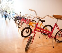 Scott Eady, 100 Bikes Part 1, at The Dowse