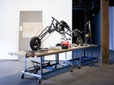Matthew Bradley, Monster Bike, installation detail, Artspace, Sydney, 2011. Photo: silversalt photography