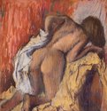 Edgar Degas, Woman Drying Herself, 1890-5, pastel on paper. Scottish National Gallery © Trustees of the National Galleries of Scotland
