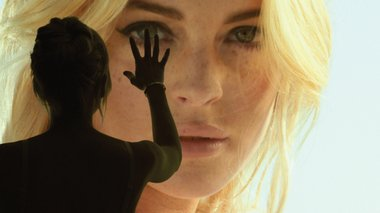 Richard Phillips, Lindsay Lohan, 2011. Courtesy Gagosian Gallery, New York.