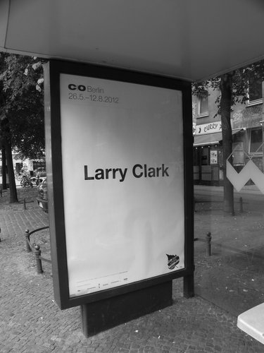 Larry Clark poster outside C/O Berlin