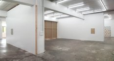 Zac Langdon-Pole's Nothing By Itself installed at Michael Lett