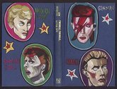 Sam Mitchell, Ziggy Stardust series, 2012, acrylic on found book covers