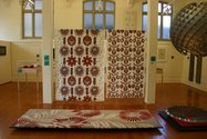 Installation of Ubiquitous: Aspects of Contemporary Pattern at Objectspace