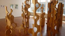 Grant Gallagher, You're only as pretty as you feel, 1999 - 2000, wood, dimensions variable. Photo Rob Garrett