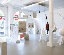 Installation view, *Latent Stare*, 08 July – 30 September 2012, Casco office for Art, Design, Theory, Utrecht, Netherlands