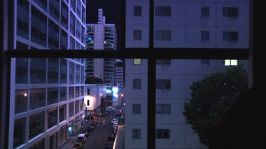 Steven Chow, You leave, I Stay Behind, 2012, film still, dual channel HD video