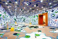 Paramodel, Japan, est. 2001 | paramodelic – graffiti 2010 | Installation view, Otani Memorial Art Museum, Nishinomiya City, Japan, 2010 | Image courtesy: The artists | Photograph: © Paramodel