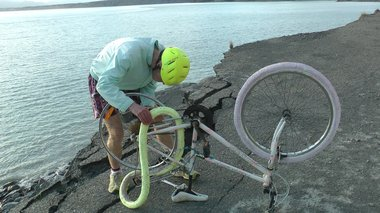Glenn Burrell, Bicycle Expedition, Cape Palliser, Wairarapa and Hawkins Hill, Wellington, April - September 2012