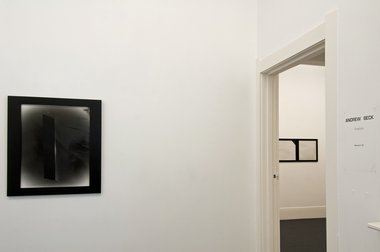 Andrew Beck's Graphics installed at McNamara Gallery in Whanganui