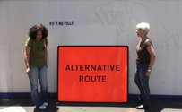 Layne Waerea, Alternative Route, 2013, video, duration:5 min 25 secs (in collaboration with Deborah Rundle).