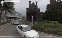 Tim J. Veling, Gloucester Street, Christchurch, Google street view, screen grab. Pigment print.