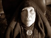 Margaret Dawson, Eatern Mystic (sepia toned), 2012-13, digital photograph, 230 x 260 mm