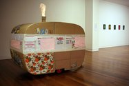 Saskia Leek, Untitled (Caravan), 2001, mixed media, Collection Dunedin Public Art Gallery