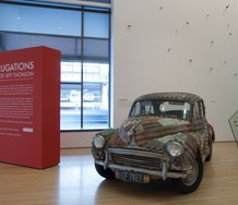 Jeff Thomson, Morris Minor 1962. Photo: Tauranga Art Gallery, Jeff Thomson