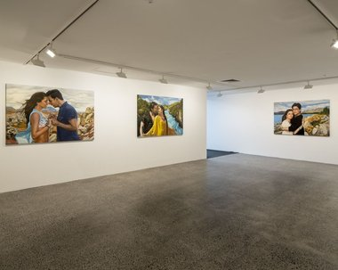 Bepen Bhana, Postcards from the Edge, at Te Tuhi.
