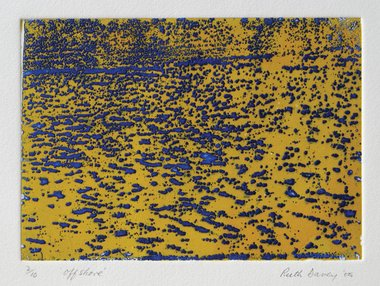 Ruth Davey, Offshore, 2005, etching, 140 x 200 mm. Image courtesy of the artist.