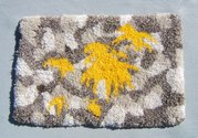 Erica van Zon, Goldenrod/The Wash, 2013, wool, canvas, cotton. Image courtesy of the artist.