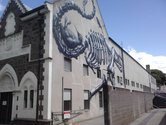 Roa on the Museum's North Wall