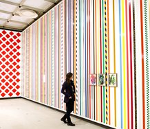 Martin Creed, What's the Point of it? as installed at the Hayward. Photo: Linda Nylind