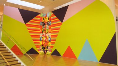 Miranda Parkes, Whopper (2014) at Tauranga Art Gallery.