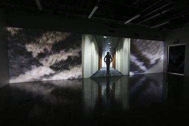 Suzie Gorodi, Corridor Series, 2014, digital video and audio, 9.20 mins