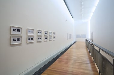 Installation view of Kim Pieter's exhibition what is a life? at the Adam Art Gallery, Victoria University of Wellington. Photo: Shaun Waugh