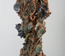 Janet Beckhouse, Portesa Rockpool, 2013.  Stoneware, 970x460x480mm.  Photo credit: Sam Hartnett