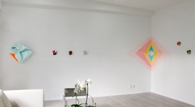 Installation of Miranda Parkes' Go-getter at Antoinette Godkin