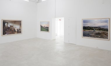 Chris Corson-Scott's New Photographs as installed at Trish Clark.