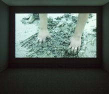Shannon Te Ao and Iain Frengley, Untitled (After Rakaihautu) 2012, HD video