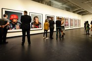 Jono Rotman's Mongrel Mob Portraits at City Gallery