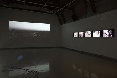 Language is a Virus, as installed at Ilam Campus Gallery. Photograph by Daegan Wells