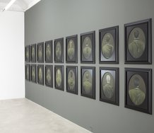 Installation of Heather Straka's Somebodies Eyes at Trish Clark Gallery. Photo: Sam Hartnett.